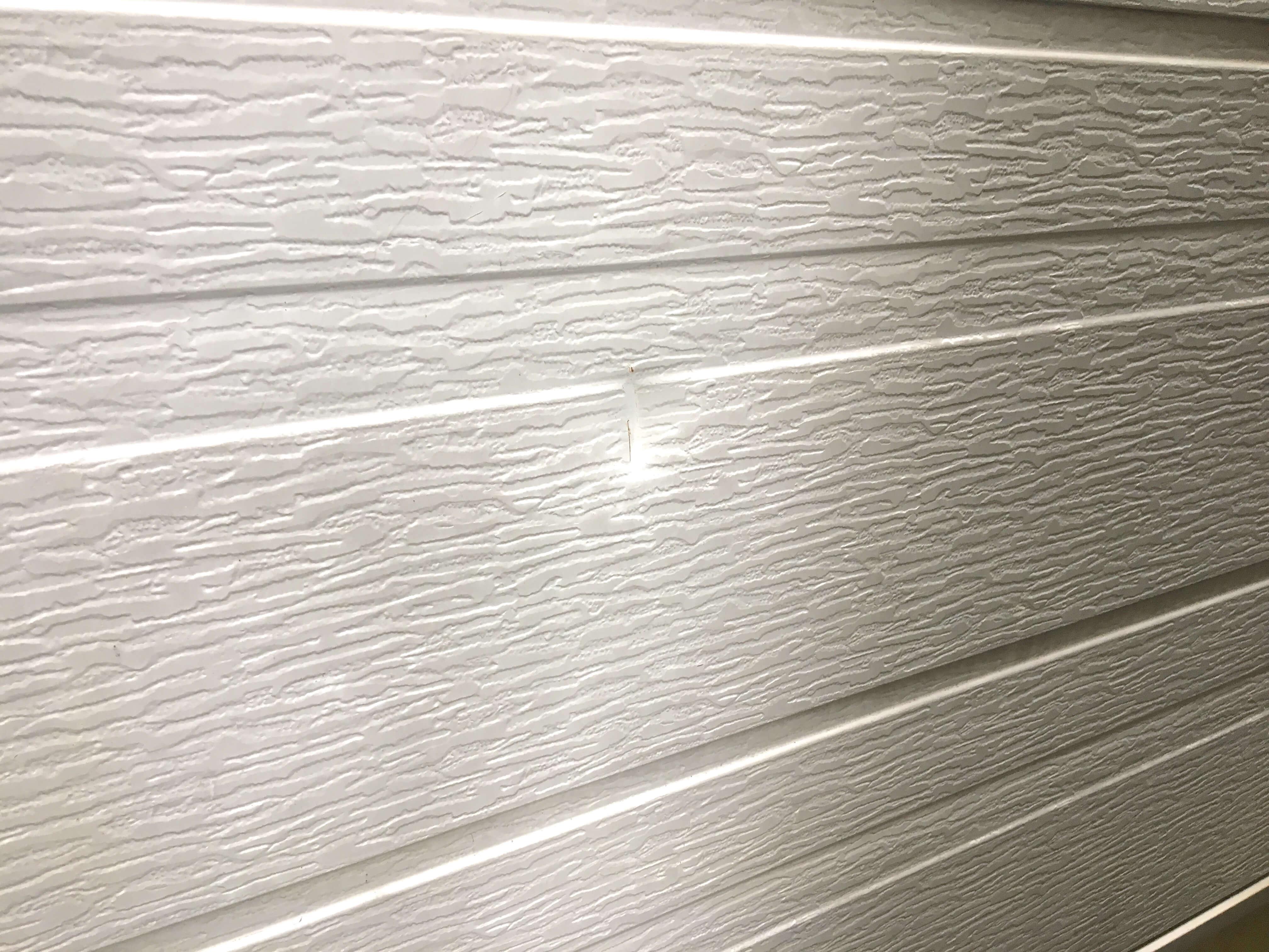 外壁の大きなヘコミ補修 | BIRDMAN