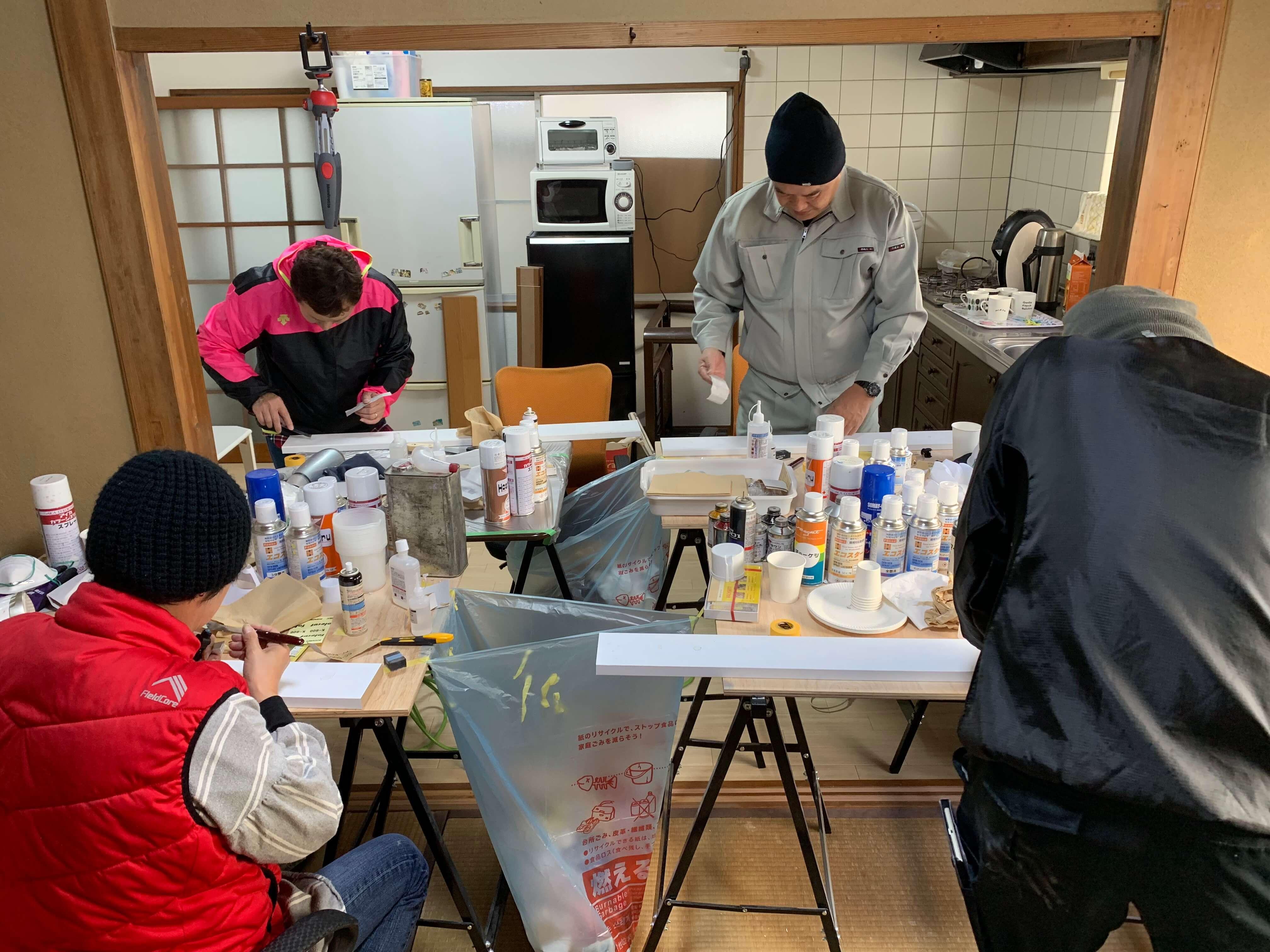 高知県から神戸のリペアスクールへ:レギュラーコース